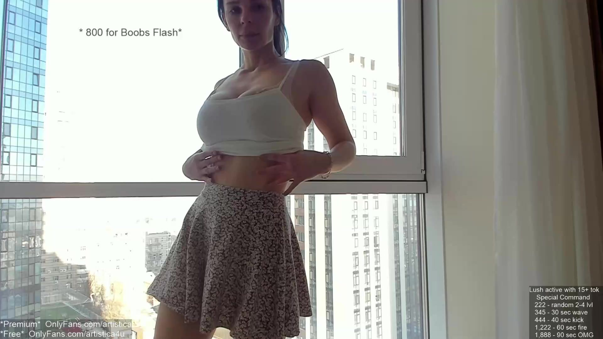 Slim body big tits