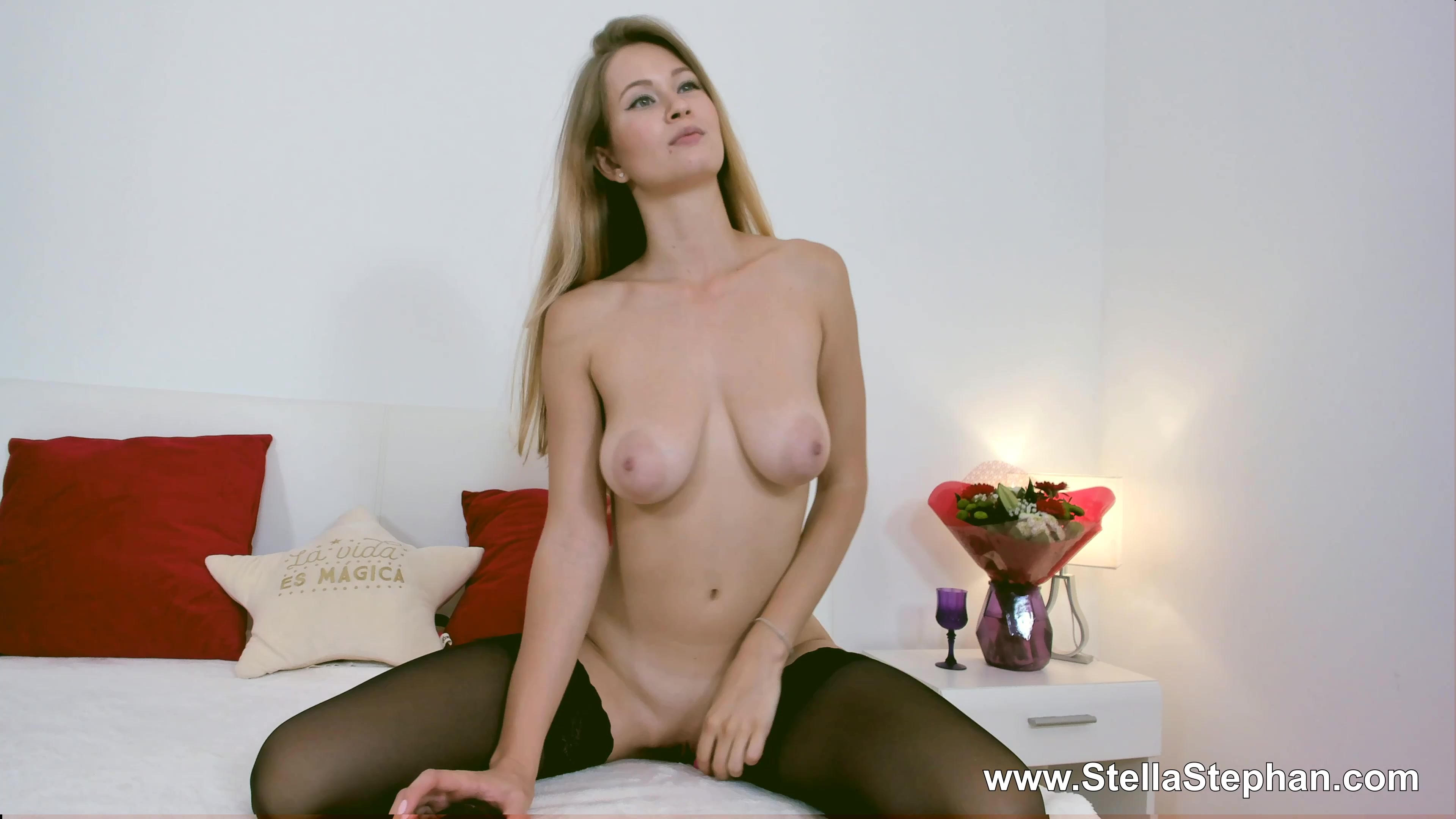Stella And Stephan Big Boobs Blonde Teen In Pantyhose